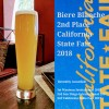 Biere Blanche Takes 2nd at the Cal State Fair 2018!