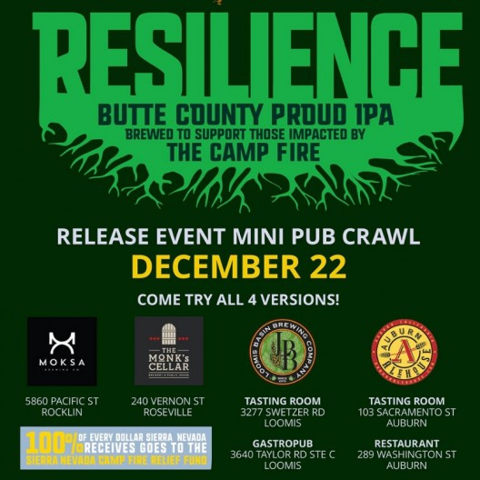 Resilience IPA Mini Pub Crawl