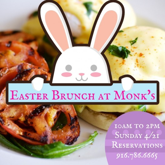 Easter Brunch at Monk's
