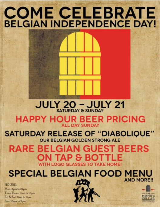 Belgian Independence Day Weekend Celebration!!!