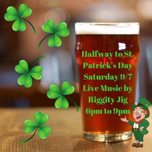 Halfway to St. Patrick's Day!!!