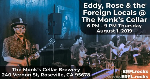 Live Music Tonight with Eddy, Rose and the Foreign Locals!
