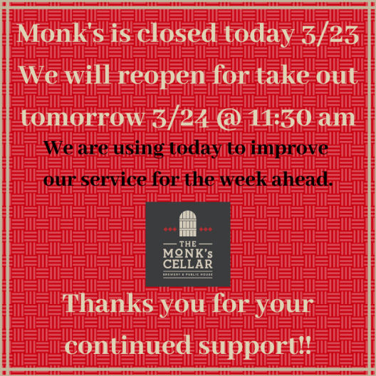 Closed Today 3/23