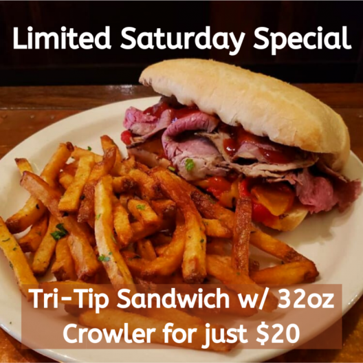 Limited Saturday Special!
