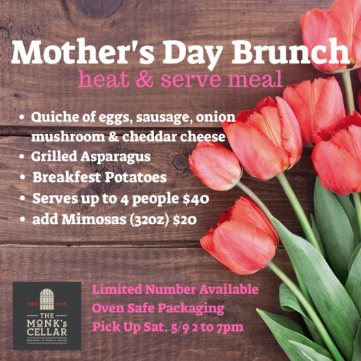 Mother's Day Brunch at Home!
