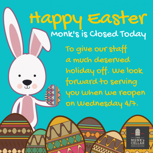Closed on Easter Sunday